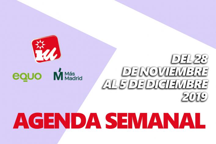 Agenda Semanal GM 28N A 5D