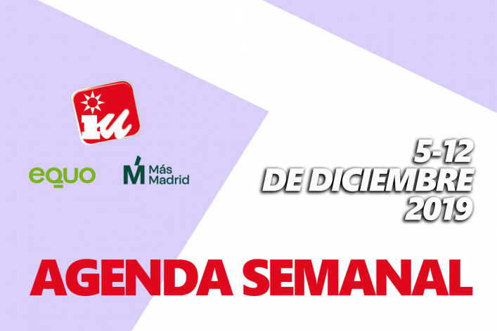 Agenda Semanal GM Cartel 5-12D