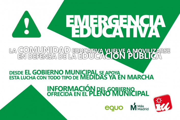 Info Emergencia Educativa Pleno