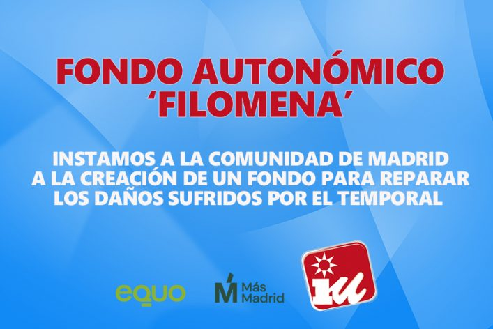 Portada web y Twitter Filomena